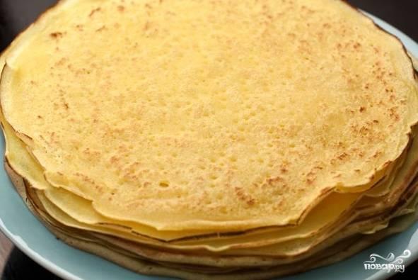 Блинчики на минеральной воде можно есть сами по себе в виде десерта, а можно сделать из них самостоятельное блюдо, используя постные начинки.