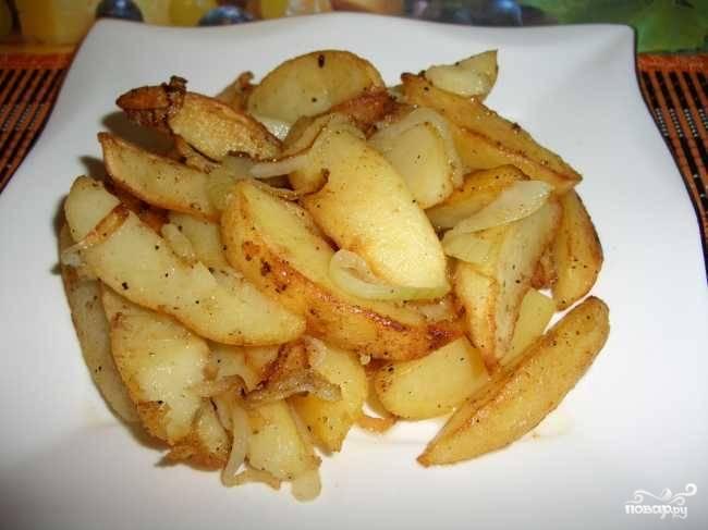 Картофель в воке