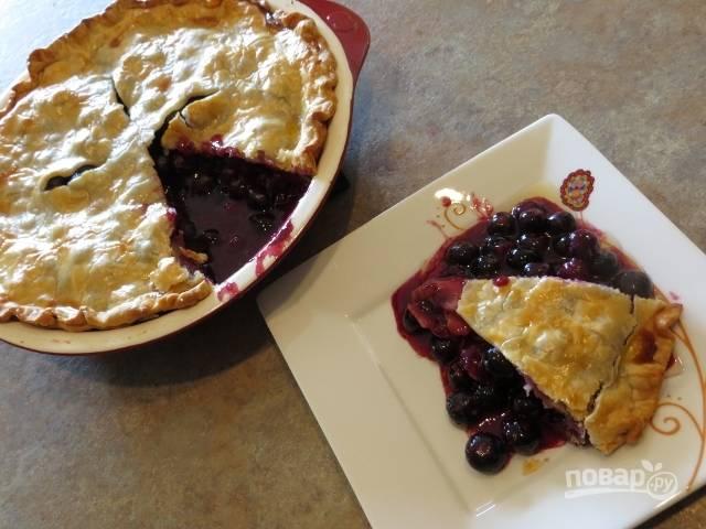 8.Остудите пирог, затем разрежьте и подавайте к столу. Приятного аппетита!