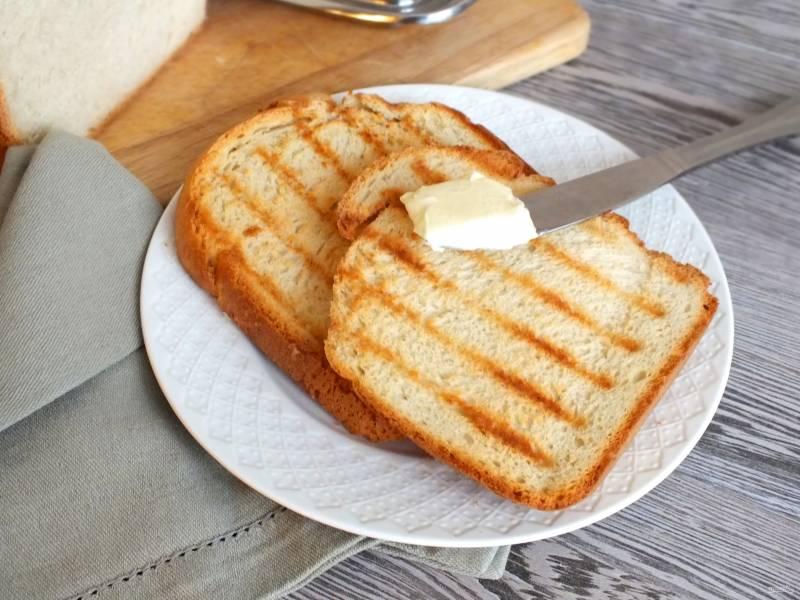 Тостовый хлеб в хлебопечке