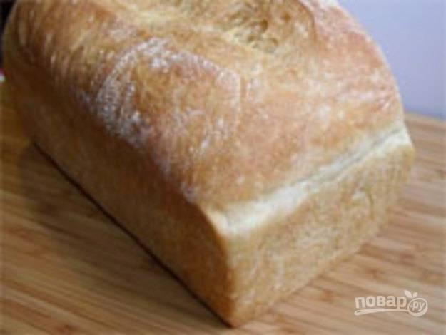 Хлеб белый для духовки