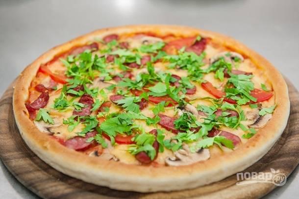 Пицца по-баварски
