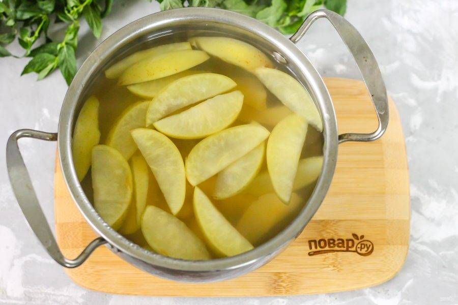 Как только нарезки отдадут свой аромат и вкус жидкости - компот полностью готов! Попробуйте его на вкус, скорректируйте при необходимости, добавляя сахар или лимонную кислоту.