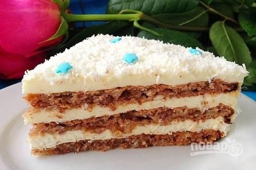 """Торт """"Морозный вечер"""""""