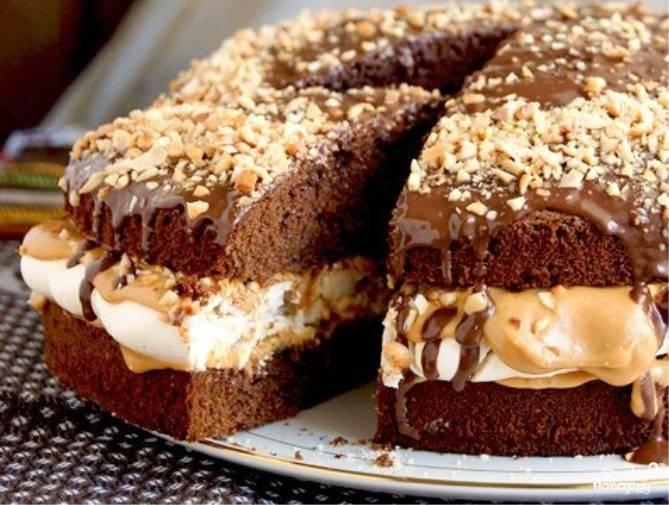 Торт Шоколадный батончик