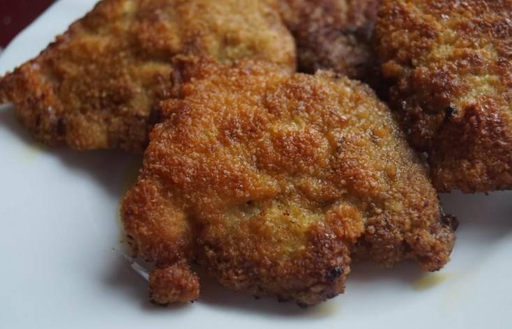 Готовые ромштексы из свинины в мультиварке подавайте с любым гарниром. Приятного аппетита!