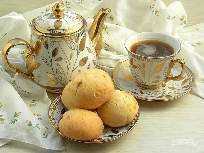 Творожные булочки со сгущенкой
