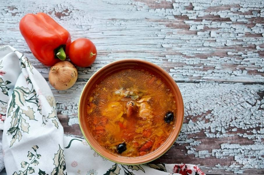 Суп готов!