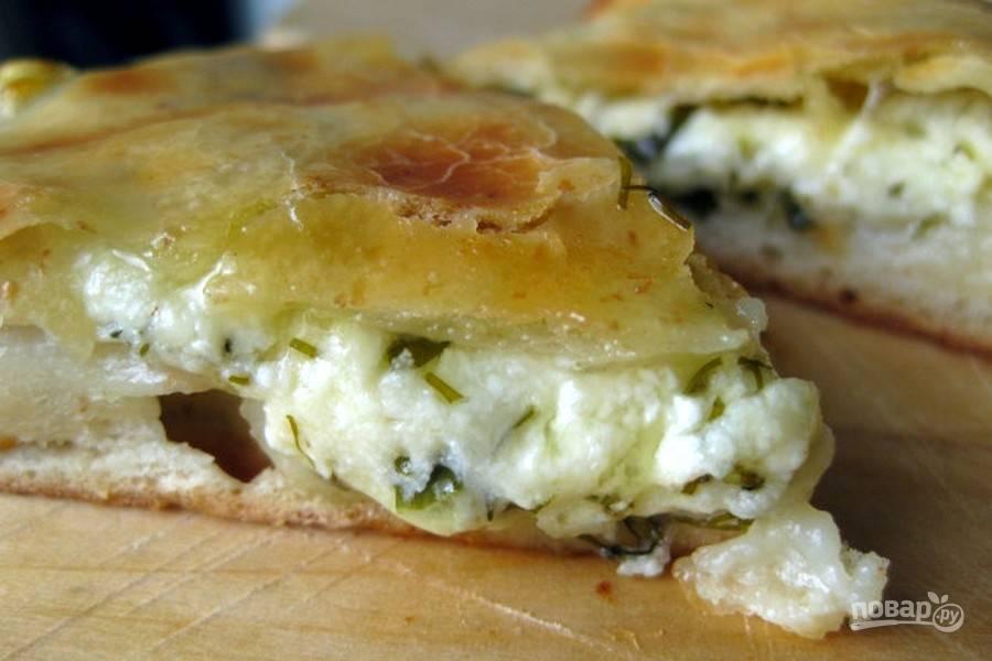Пирог с сулугуни