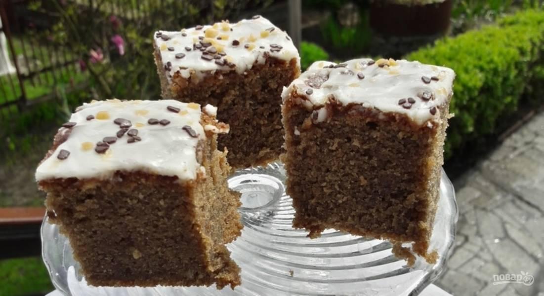 Рецепт пышного пирога