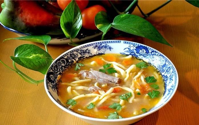 Суп готов! Приятного аппетита!