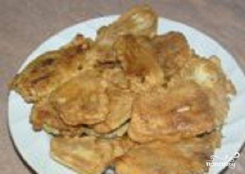 4.Блюдо готово. При желании можно украсить веточками зелени. К жареным молокам можно подать жареный картофель или картофельное пюре.
