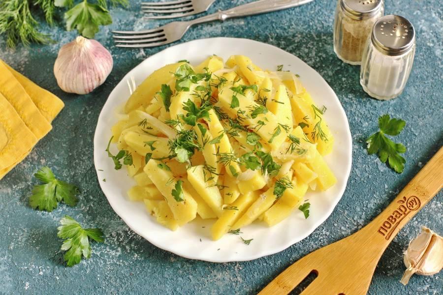Диетическая картошка