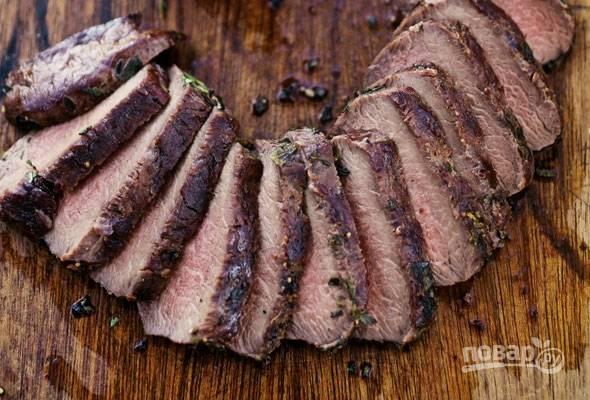 Мясо марала на гриле