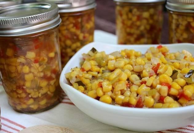 5. Салат из кукурузы на зиму готов! Приятного аппетита и яркого настроения зимой!