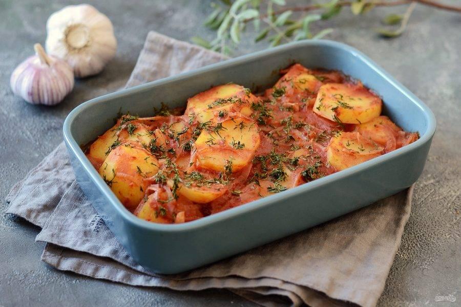 Картофель по-египетски готов, приятного вам аппетита!
