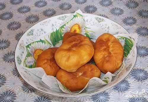 Пирожки на сыворотке жареные