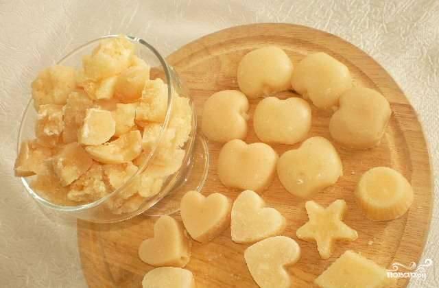 Конфеты из сахара и молока