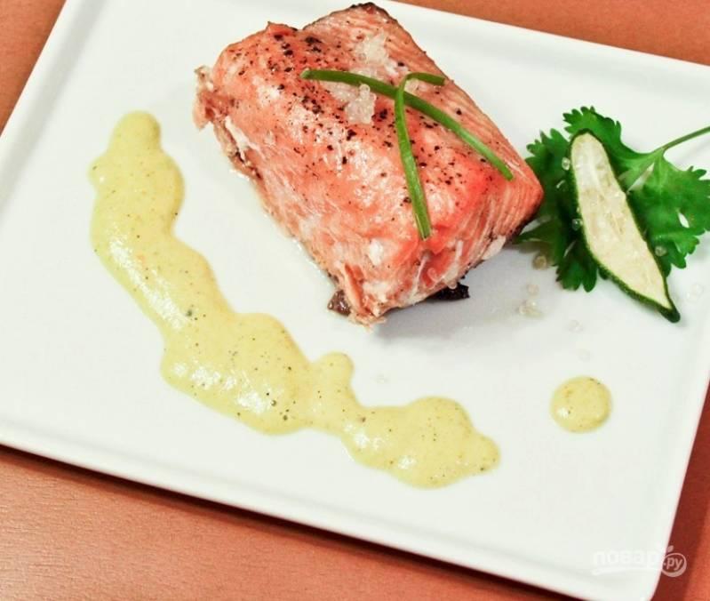 Сливочный соус к рыбе