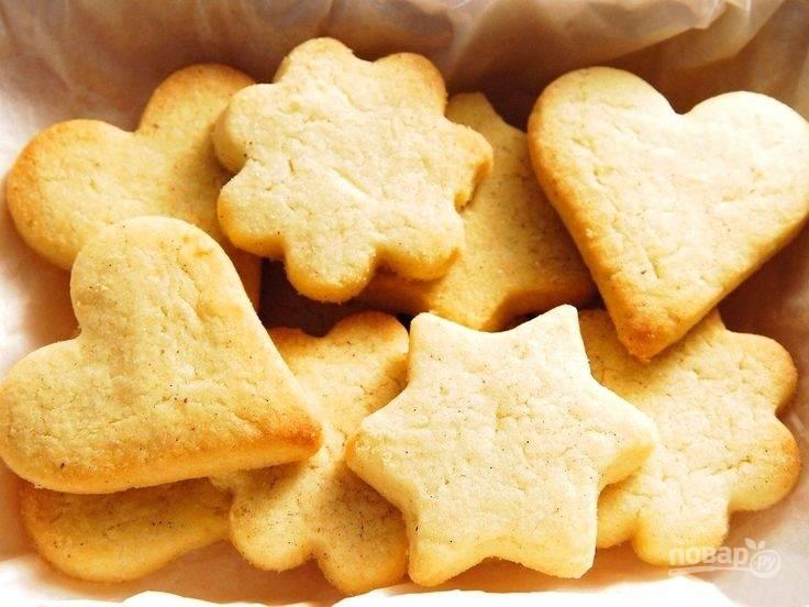Песочное печенье без сахара