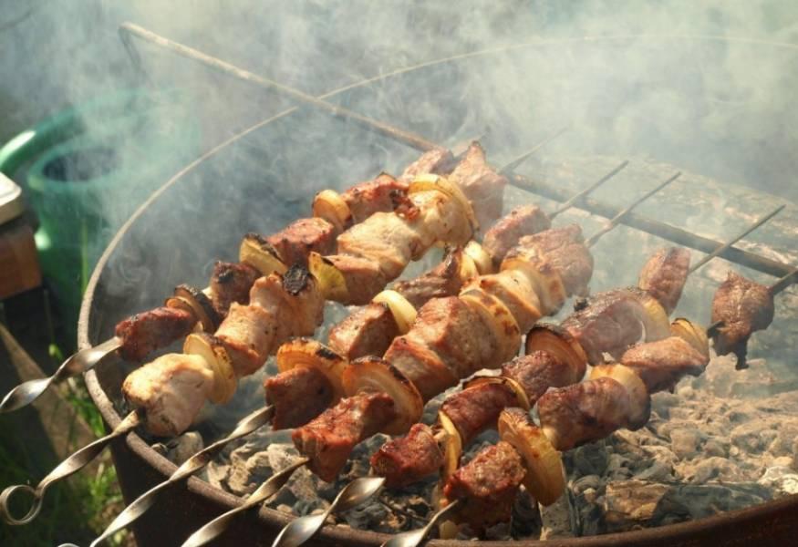Наше мясо отлично промариновалось и его можно смело жарить, запекать или делать шашлык. Приятного аппетита!