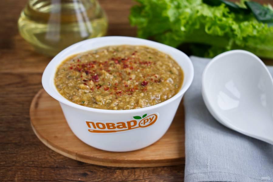 Пряный марокканский суп из нута