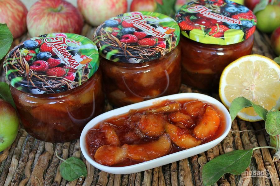 """Яблочное варенье дольками """"Янтарное"""""""