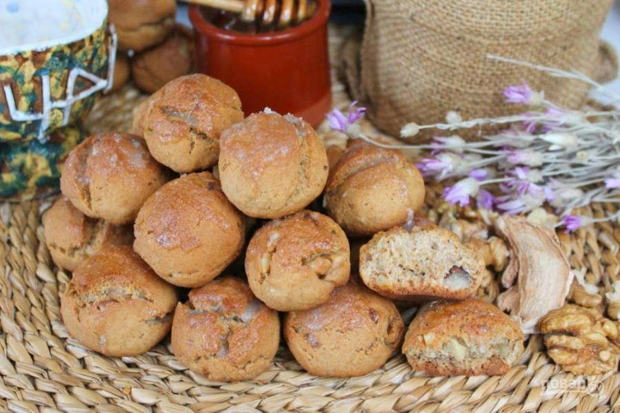 Пряники с грецкими орехами