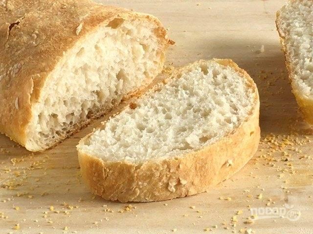 Чиабатта (итальянский хлеб)