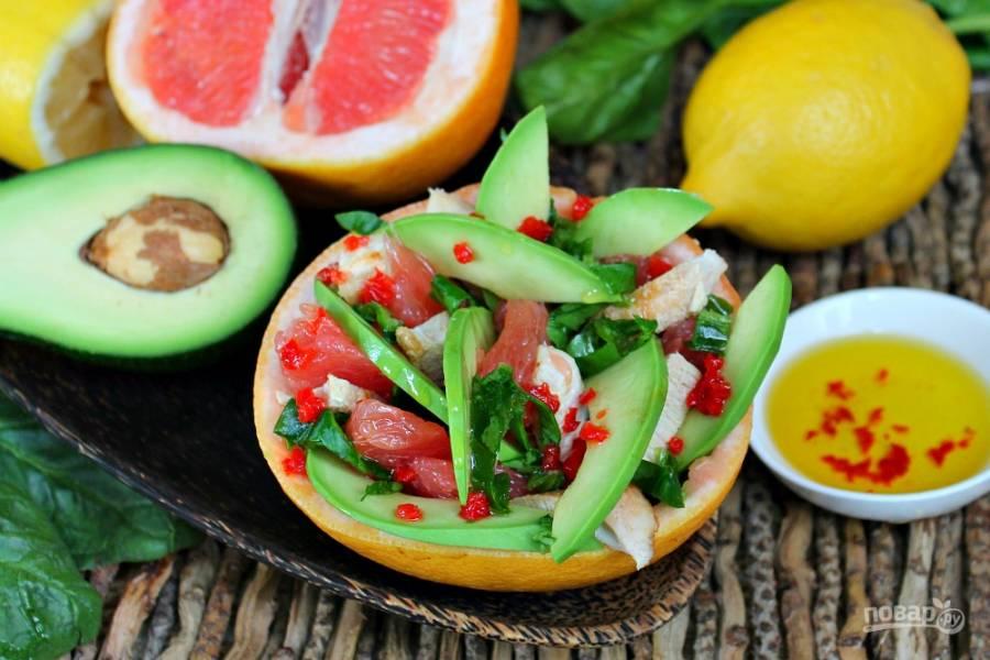 Карибский салат