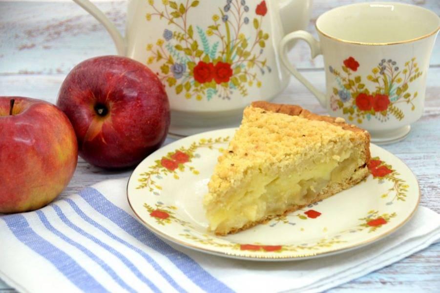 А теперь наливайте чай и наслаждайтесь нежнейшим вкусом пирога!