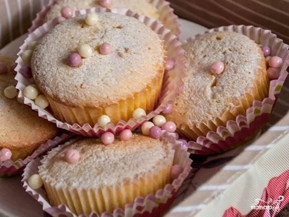 Творожные кексы для детей