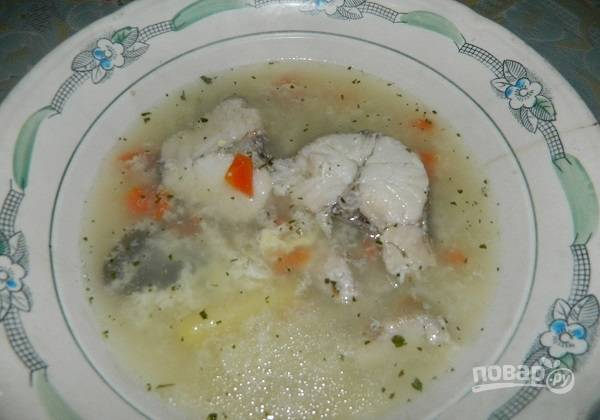 Рыбный суп из судака