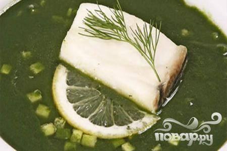 Рыба отварная