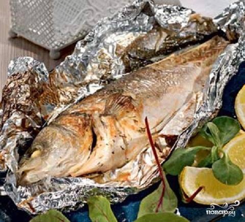 Рыба, фаршированная сыром