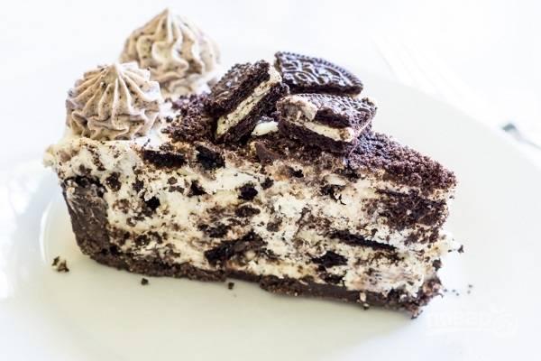 8. Чудесный тортик, попробуйте!  Приятного аппетита!