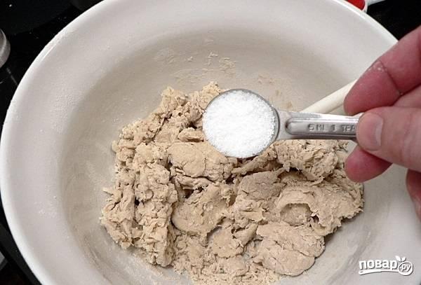 3. Добавьте соль.