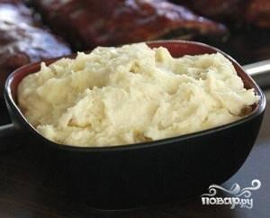 Чесночное картофельное пюре