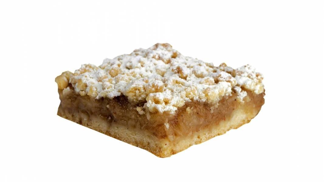 Простой песочный яблочный пирог