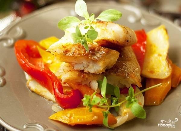 5. Вот такая красота получается в результате. Очень классное блюдо, яркое, полезное и вкусное.