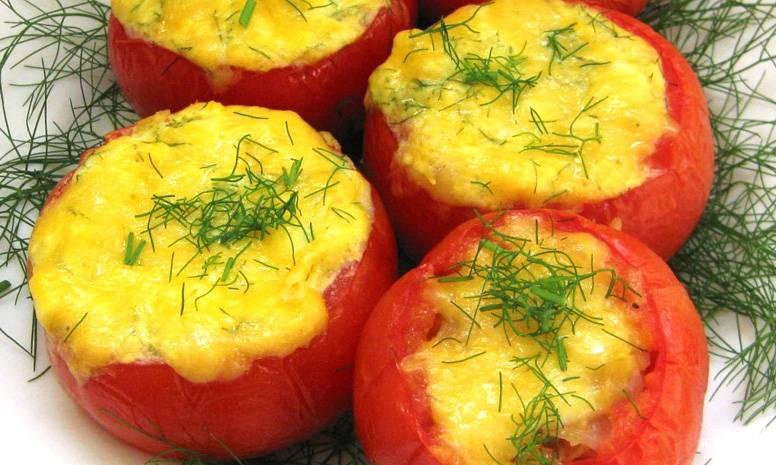 Перец с мясом в духовке