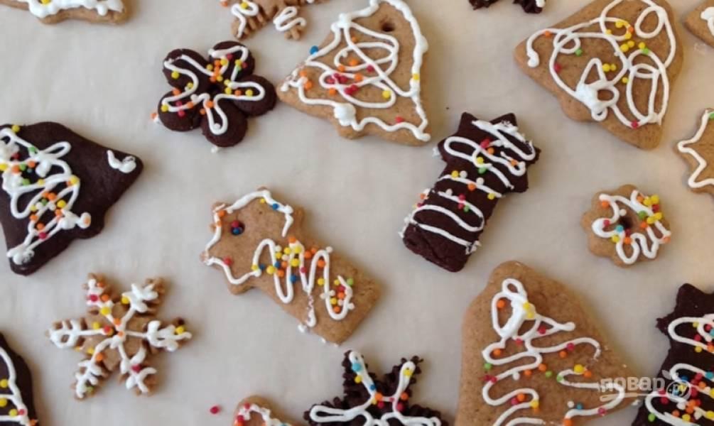 Домашнее имбирное печенье