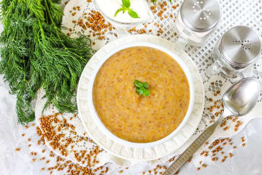 Гречневый суп для ребенка 1 года