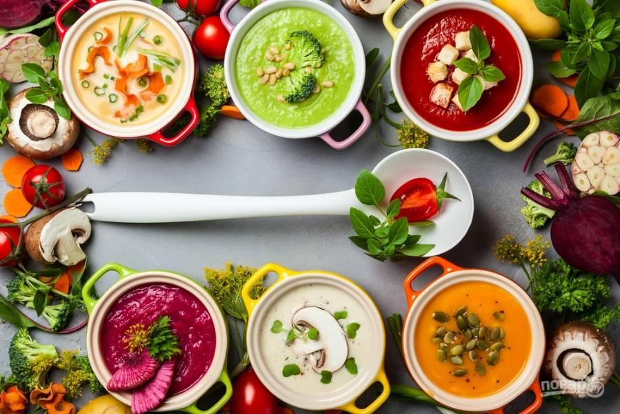 Блюда для всей семьи: вкуснейшие супы за полчаса