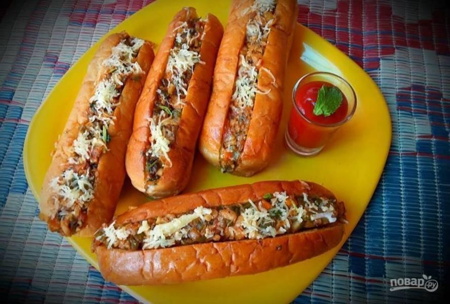 Вегетарианские хот-доги