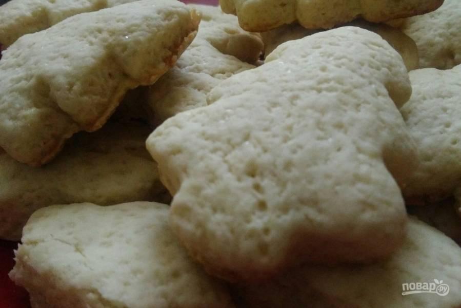 Песочное печенье мягкое