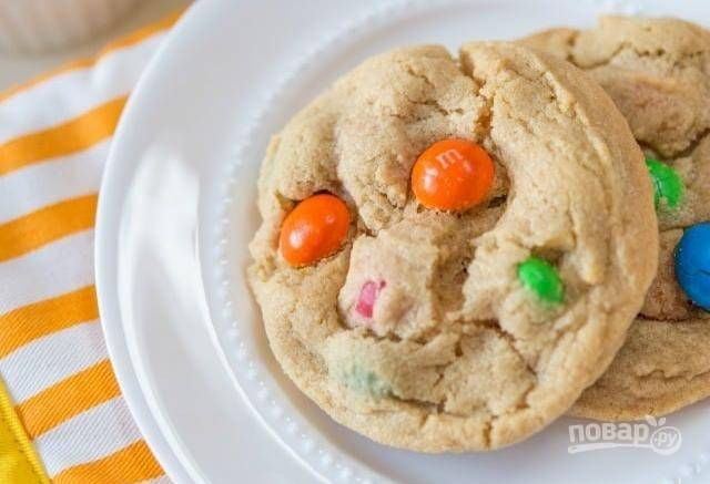 6. Выпекайте печенье в течение 15 минут при 180 градусах. Приятного чаепития!