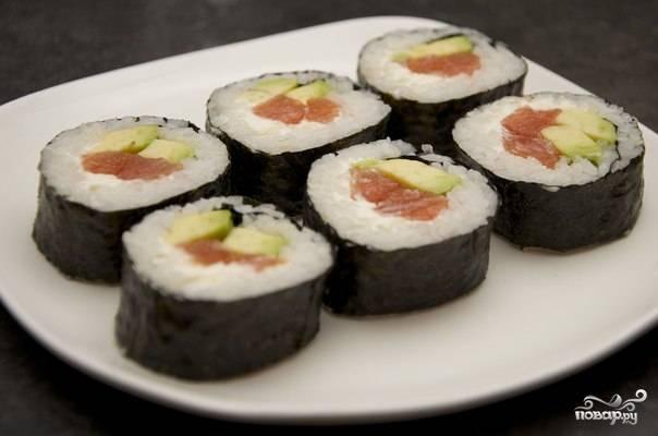 Суши с сыром