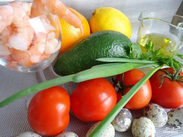 Для приготовления салата следует подготовить все необходимые ингредиенты.