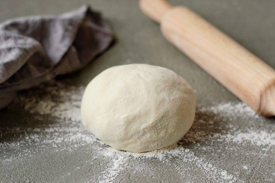 Тесто для пельменей с растительным маслом готово!